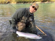 BC Steelhead Fishing Catch